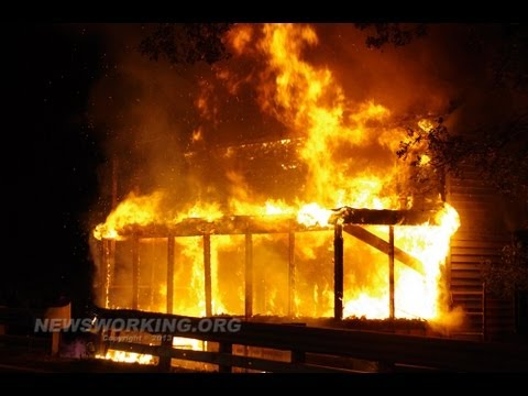 Fully-involved house fire in Hanover Township, PA (Lehigh Co.)