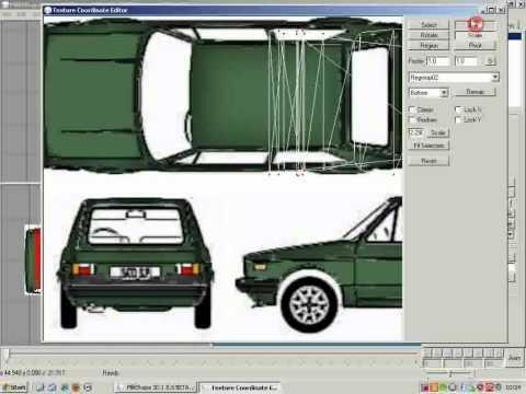 Creating a simple car with Milkshape 3D