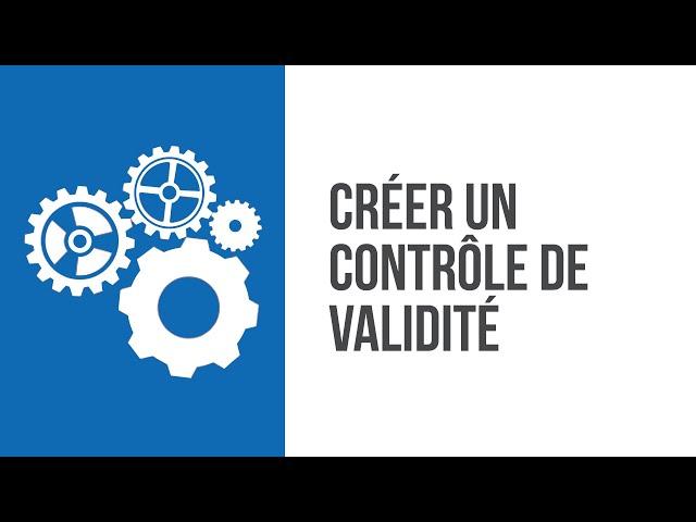 Comment personnaliser les sécurités d'un ERP CRM ? Créer aisément un contrôle de validité avec SIMAX