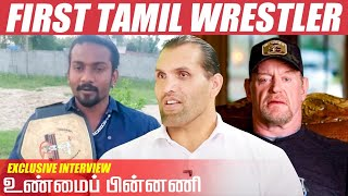 Real Reason Behind MYTH Undertaker's Seven Lives – Tamil Wrestler Jey Jackson opens up | Khali