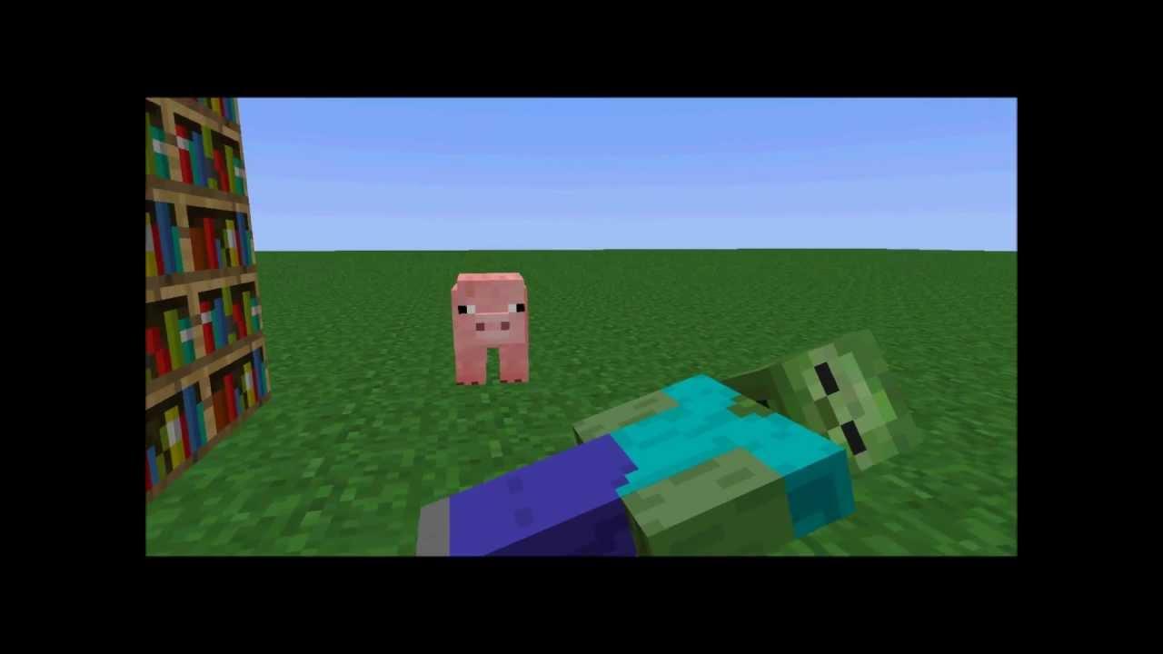 The stupid pig minecraft animation hd youtube the stupid pig minecraft animation hd sciox Images