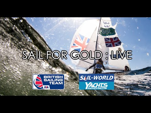 Olympic Sailing News - Sail for Gold Live - Mon 15 Aug 2016 - Rio 2016 - Giles Scott & Matt Howard
