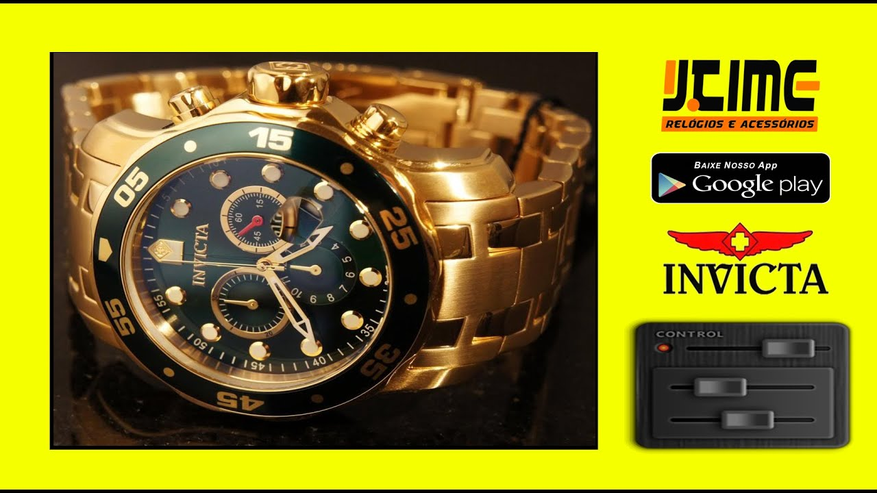 Invicta 0072 Pro Diver - Jtime Relógios (App in Google Play)