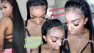 Best Lace Glue Ever| How to Apply Your Wig Using Bold Hold Creme + Laying Baby Hair| KennySweets