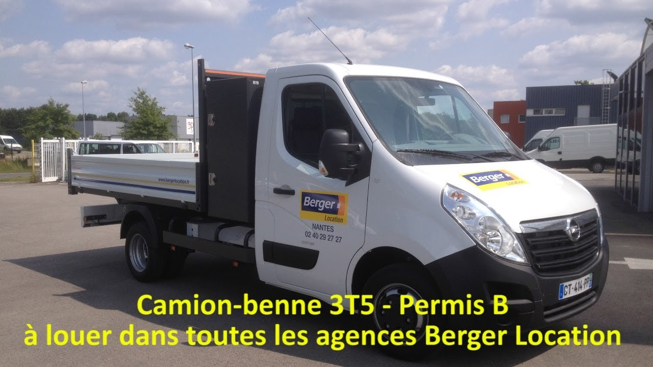 Berger Location Camion Benne 3t5
