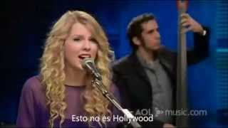 taylor swift white horse live subtitulado en español
