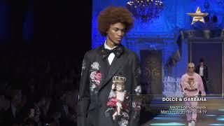 DOLCE & GABBANA Milan Fashion Week Men's Fall/Winter 2018-19