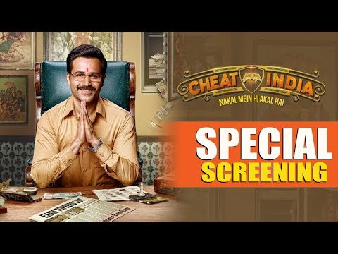 "Emraan Hashmi's ""Cheat India"" Special Screening 