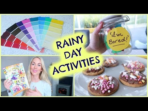 10 RAINY DAY ACTIVITIES FOR KIDS | HOW TO ENTERTAIN KIDS | EMILY NORRIS ad