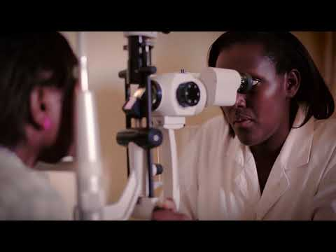 Vision for a Nation Foundation's Eye Care for Rwanda initiative - Bond Innovation Award submission