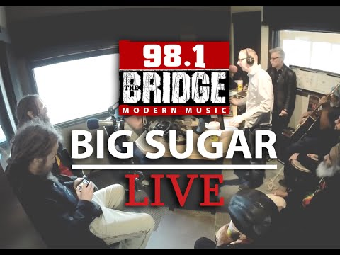 Big Sugar - Full Interview & Live Performance @ 98.1 The Bridge