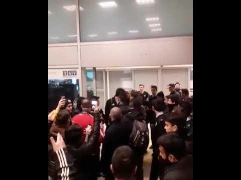 Bayern Münih maçı dönüşü Havaalanında karşılama 🏁🏁🏁