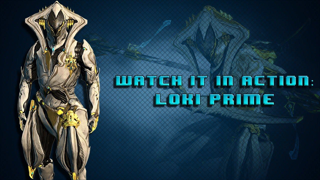Warframe loki prime cost - Warframe Watch It In Action Loki Prime Radial Disarm Perma Invis Build Youtube