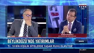 HaberTürk TV - Beylikdüzü Bld. Bşk. Ekrem İmamoğlu Bakış programına konuk oldu. 21.12.2017