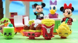 Shopkinsowe Przekąski | Lego Disney Myszka Minnie & Shopkins | Bajki dla dzieci