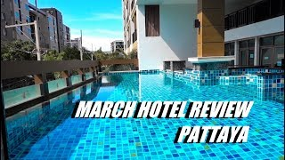 Review of the March hotel in Pattaya. Best value for money and guest-friendly