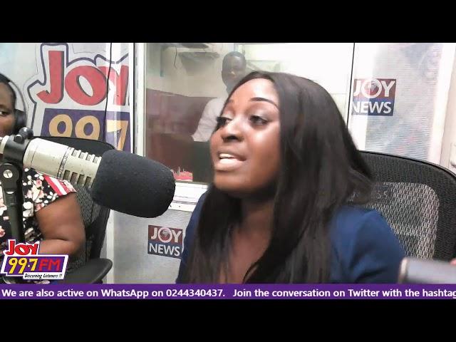 #StrongAndSassy on Joy FM (21-11-18)