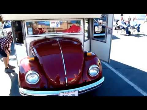 BUG RV, Mini Motorhome, VW Beetle conversion DougCameraman
