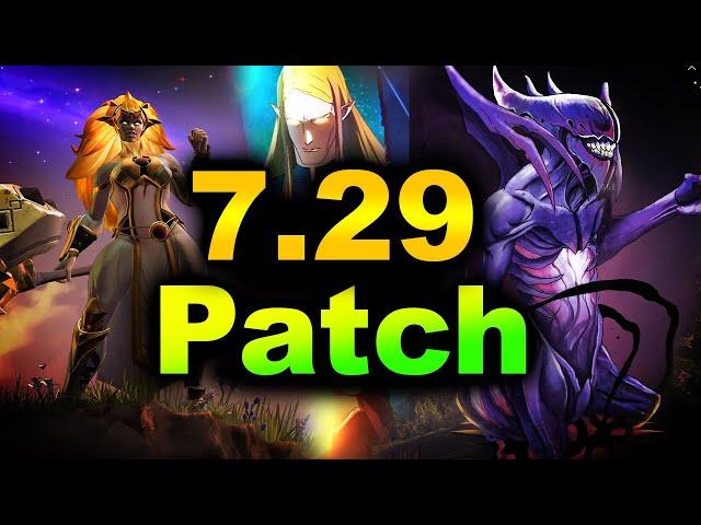 7.29 NEW PATCH - BIGGEST CHANGES - DAWNBREAKER UPDATE DOTA 2