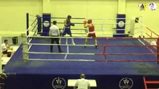 2018 Gençler İstanbul Boks Şampiyonası / Batuhan Seyran / Yarı final / 75 kg / Nakavt / GADA SK