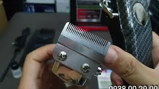 Tông Đơ Cắt Tóc Surker 807 Với Lưỡi Thép Siêu Bén Hiển Thị LCD.(Ảnh thật)