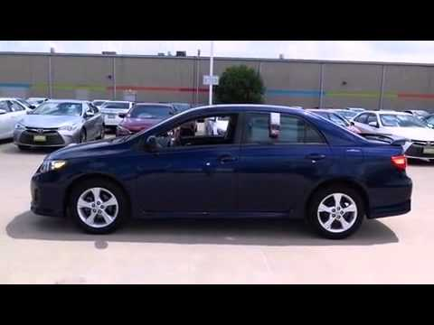 Toyota Rockwall >> 2013 Toyota Corolla S w/ Alloy Rims & Spoiler - YouTube