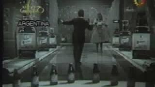 Publicidad original de cerveza quilmes imperial - Sube la espumita