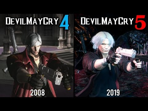 Devil May Cry 5 vs Devil May Cry 4 | Direct Comparison thumbnail
