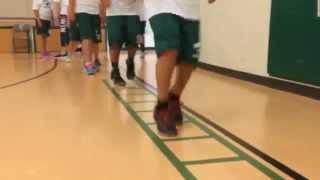 West Jr. High School 8th grade PE