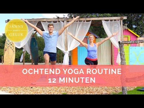 Ochtend Yoga Routine voor Energie!  Sanny zoekt Geluk