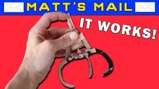 Cardboard Claw Machine Claw!   Matt's Mail