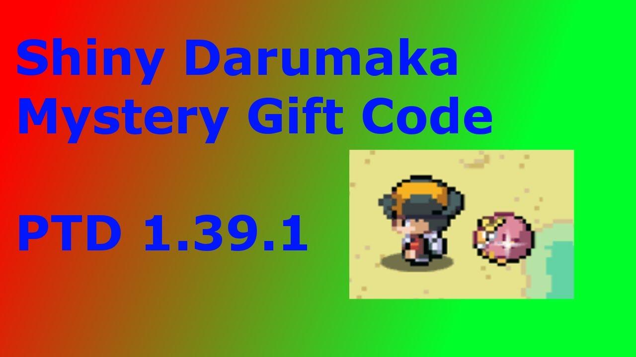 Pokemon Tower Defense 2 Shiny Darumaka Mystery Gift Code Youtube