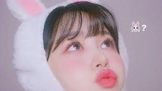 [JPN SUB/당첨자발표]핑크 후드에 찰떡메이크업 (…