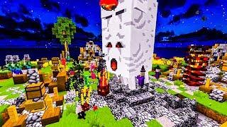 Minecraft MobWars #17 - Takiego chaosu to nigdy nie było!!