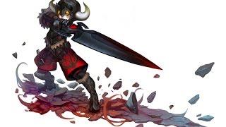 Гладиатор или мастер клинка в Dragon Nest
