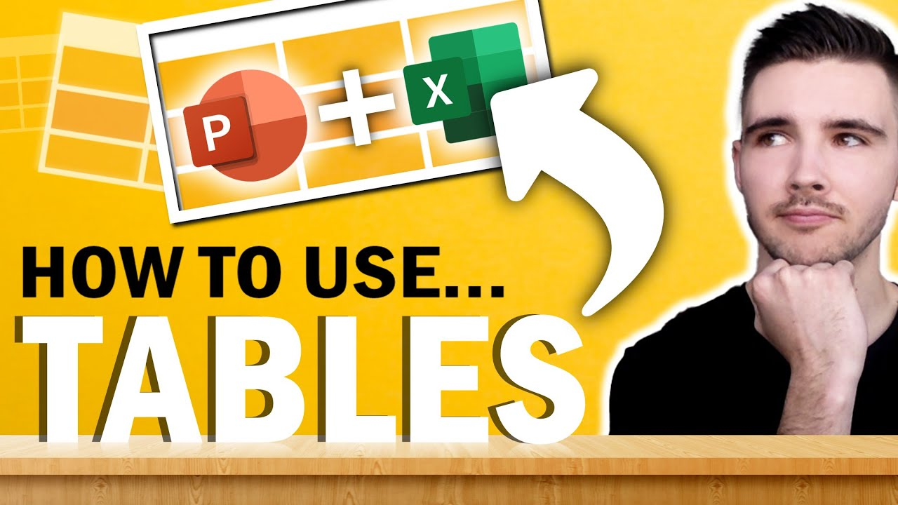How to use Tables in PowerPoint