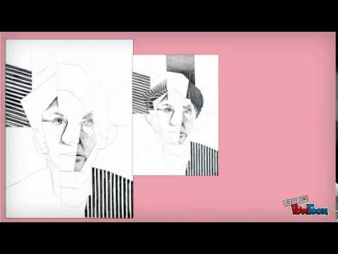 QUICK TUTORIAL ON HOW TO DRAW CUBISM!