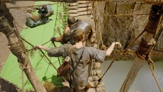 The Making Of Atlantis: Crossing A Treacherous Rope Bridge? - Atlantis: Series 2 - Bbc One