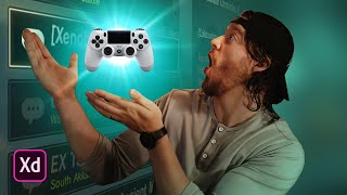 Prototyping Your Game With A Gamepad (Adobe XD Tutorial)!