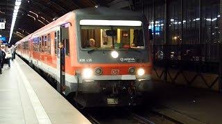 2019/10/18 【ポーランド 国際列車】 ドイツ鉄道 628型 ヴロツワフ中央駅 | Poland: Deutsche Bahn Class 628 at Wrocław Główny