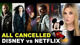 Jessica Jones & The Punisher CANCELLED - Disney vs Netflix