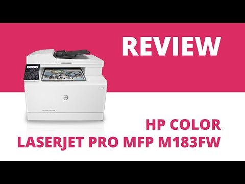 HP Color LaserJet Pro MFP M183fw A4 Colour Multifunction Laser Printer