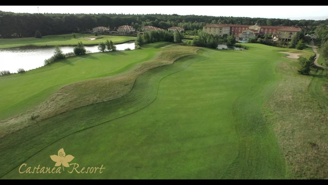 castanea resort adendorf golfanlage bahn 6 youtube. Black Bedroom Furniture Sets. Home Design Ideas