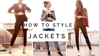 April Lookbook | How To style Jackets ,Shrugs,Overcoat | Tejaswi |