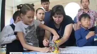 Гонки и сумо.  Нешуточная борьба техники. Сегодня в Кызыле завершился форум по робототехнике.