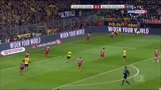 Футбол (Чемпионат Германии. Боруссия Дортмунд (Германия) - Бавария Мюнхен (Германия
