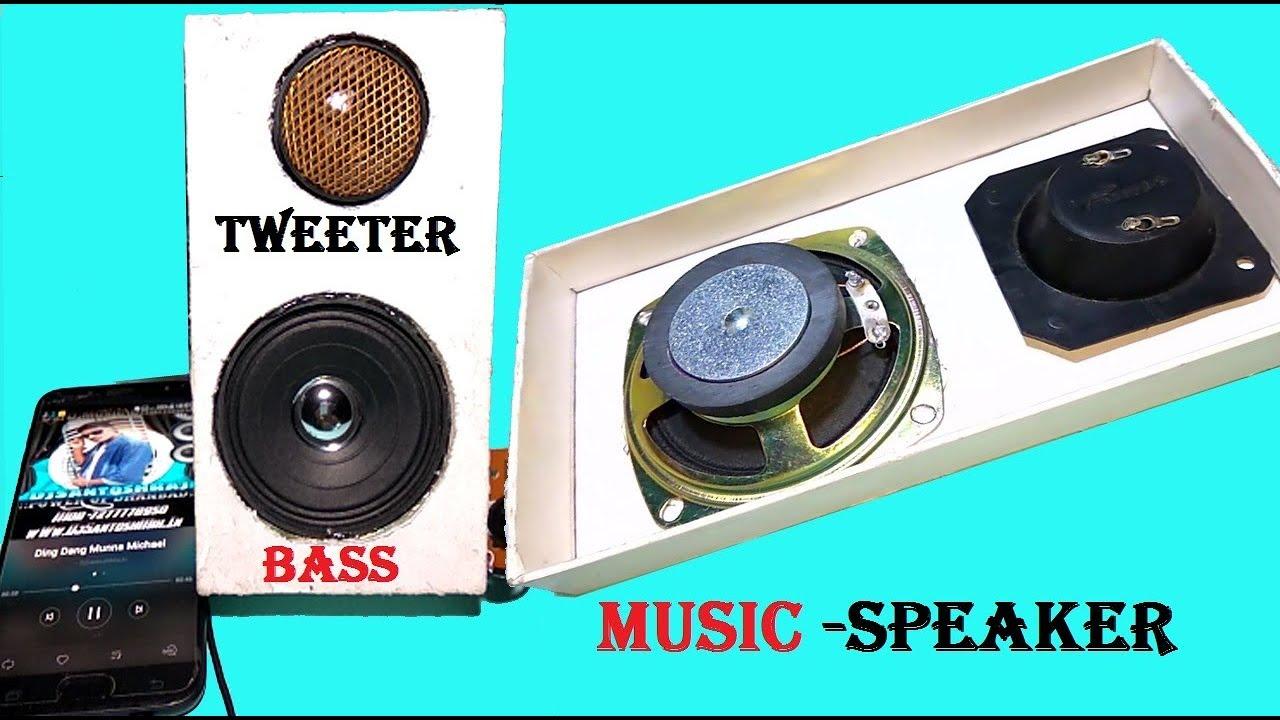 how to make bass speaker