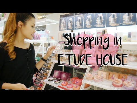 SHOPPING IN ETUDE HOUSE | The Best And My Favorite Products, Recommendations, & Follow Me Around