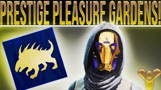Destiny 2 Leviathan Prestige Raid. How To Complete Pleasure Gardens (One Phase) Prestige.