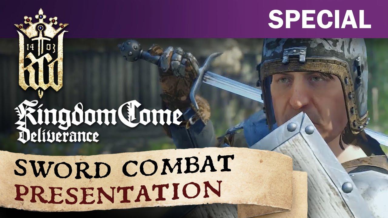 kingdom come deliverance sword combat presentation youtube